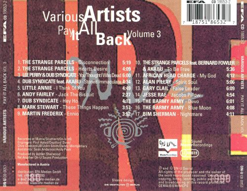 Pay It All Back, Vol. 3