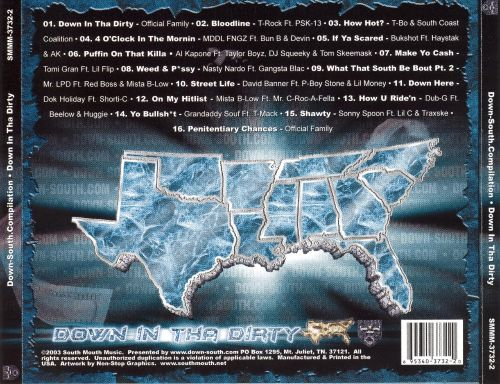 Down South Compilation: Down in Tha Dirty
