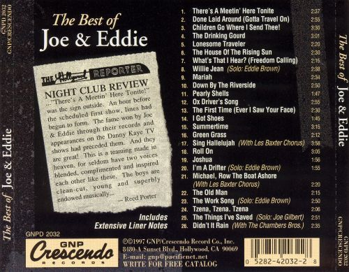 The Best of Joe & Eddie