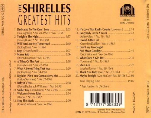Greatest Hits [Remember]