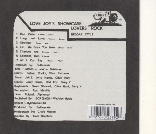 Lovers Rock (Reggae Style)
