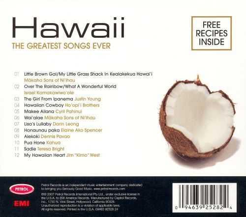 Petrol Presents: Greatest Songs Ever - Hawaii