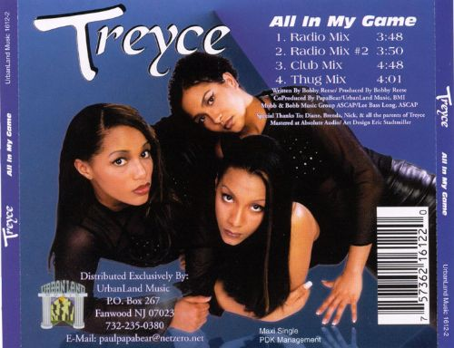 All in My Game [CD/12