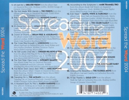 Spread the Word 2004