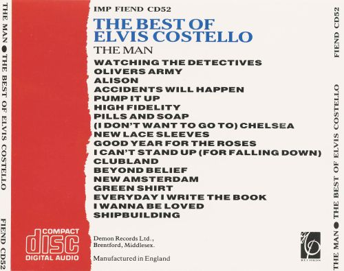 Best of Elvis Costello: The Man