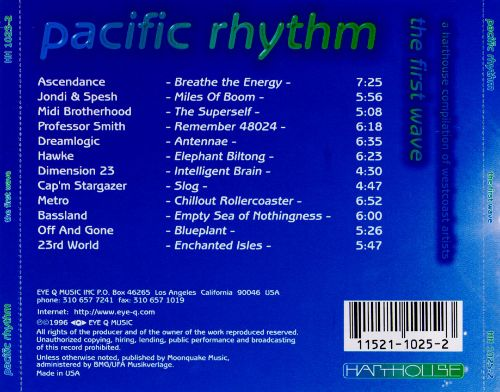 Pacific Rhythm: The First Wave