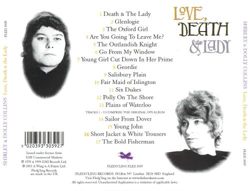 Love, Death & the Lady [UK Bonus Tracks]