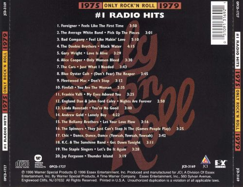Only Rock 'N Roll 1975-1979: #1 Radio Hits