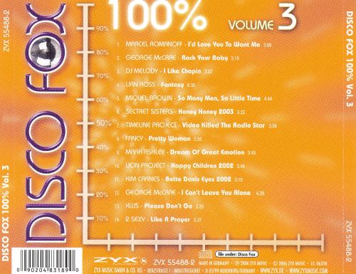 Disco Fox 100%, Vol. 3