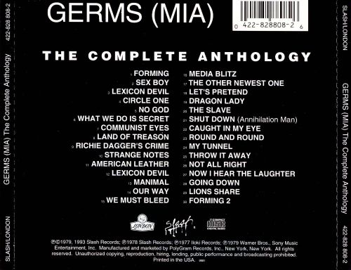 (MIA): The Complete Anthology