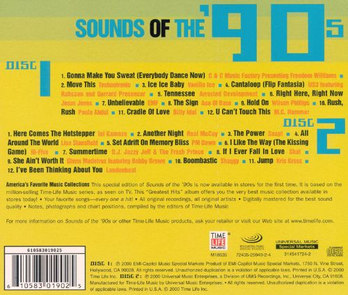 Sounds of the 90's: Into the 90's [Time Life]