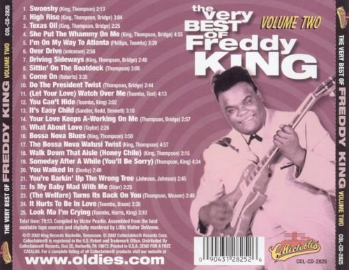 The Very Best of Freddy King, Vol. 2