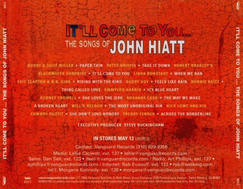 It'll Come to You: The Songs of John Hiatt