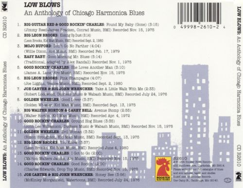 Low Blows: An Anthology of Chicago Harmonica Blues