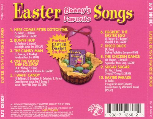 DJ's Choice: Easter Bunny's Favorite Songs
