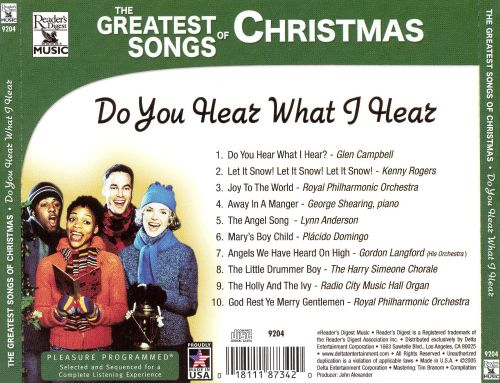 The Greatest Songs of Christmas: Do You Hear What I Hear
