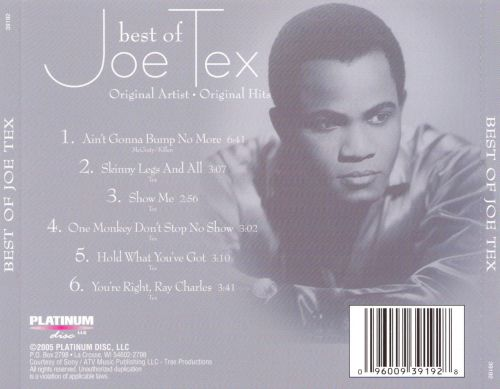 Best of Joe Tex [Platinum Disc]