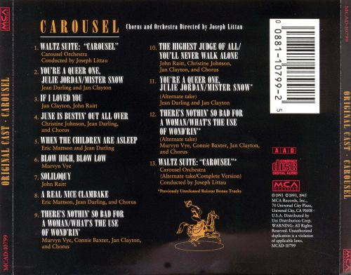 Carousel [Original Cast Recording]