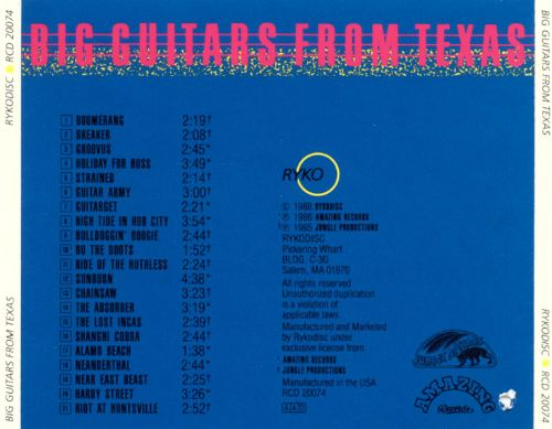 Big Guitars from Texas