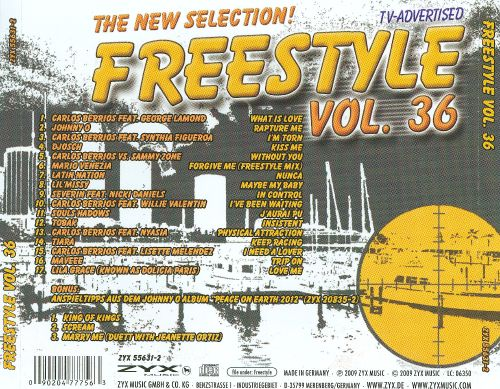 Freestyle, Vol. 36