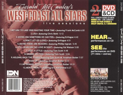 Gerald McCouley's West-Coast All Stars