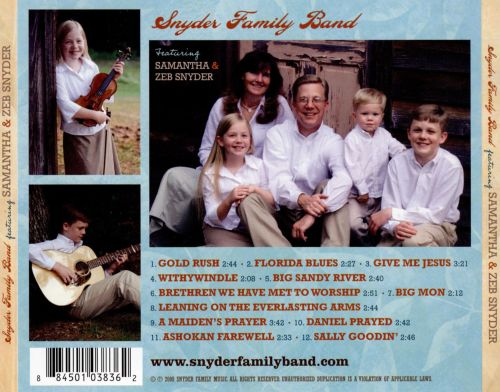 Snyder Family Band Featuring Samantha & Zeb Snyder
