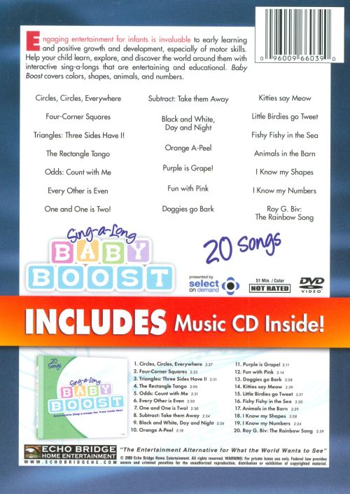 Sing-A-Long Baby Boost [DVD]