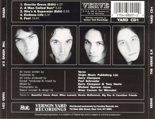 The Verve EP