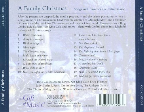 A Family Christmas [Classical Communications]