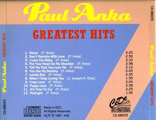 Greatest Hits [Cede]