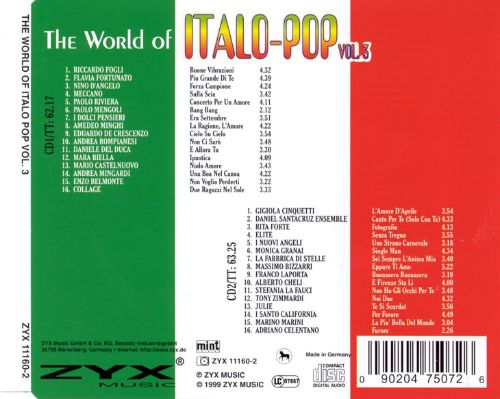 World of Italo Pop, Vol. 3