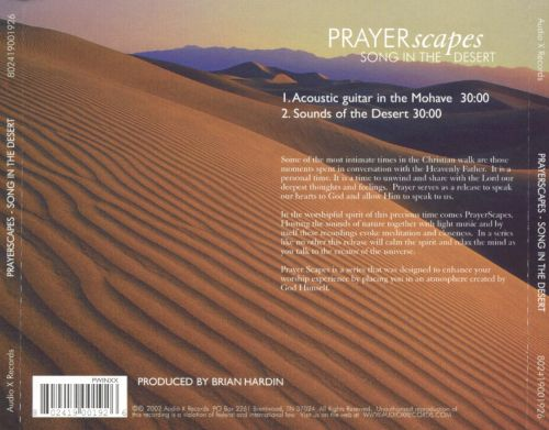 PRAYERscapes: Song in the Desert
