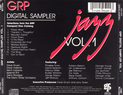 GRP Digital Sampler, Vol. 1