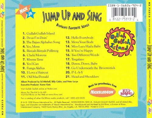 Jump Up and Sing: Binyah's Favorite Songs