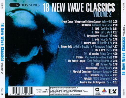 The 50 Best New Wave Albums :: Music :: New Wave - Paste