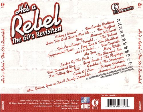K-Tel Presents: He's a Rebel - The 60's Revisited