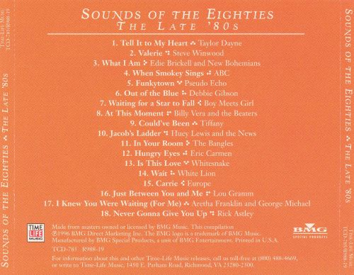 Sounds of the Eighties: The Late '80s