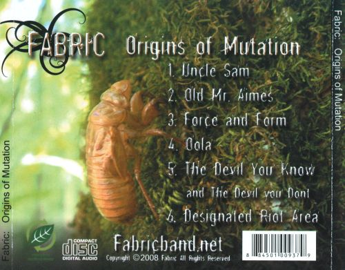 Origins of Mutation