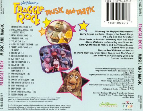Fraggle Rock Music Amp Magic Original Soundtrack Songs