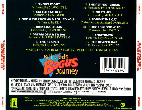 Bill & Ted's Bogus Journey [Soundtrack]