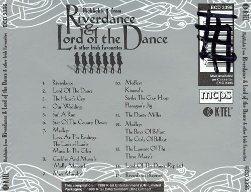 Highlights from Riverdance & Lord of the Dance & Other Irish Favorites