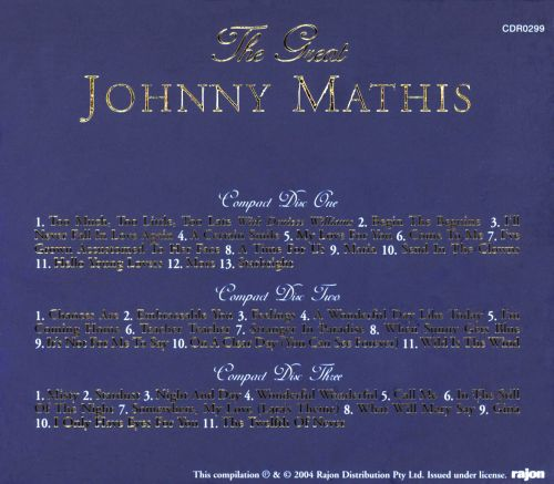 Great Johnny Mathis