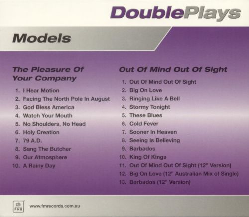 DoublePlays: The Pleasure of Your Company/Out of Mind Out of Sight
