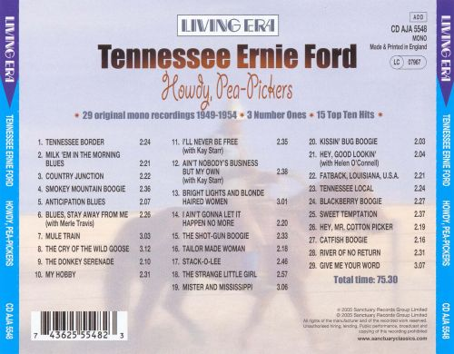 howdy pea pickers tennessee ernie ford songs reviews credits. Cars Review. Best American Auto & Cars Review