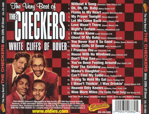 Very Best of the Checkers: White Cliffs of Dover