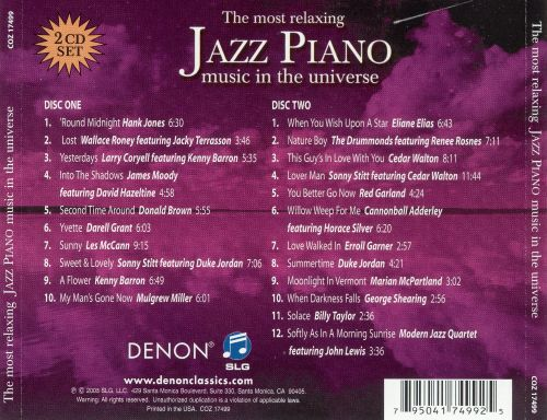 The Most Relaxing Jazz Piano in the Universe