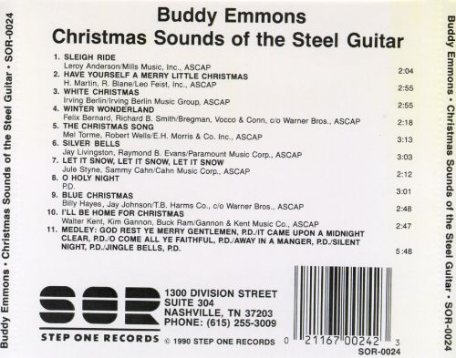 Christmas Sounds of the Steel Guitar