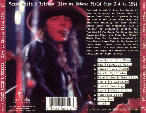 Live at Ebbets Field: June 3 & 4, 1974