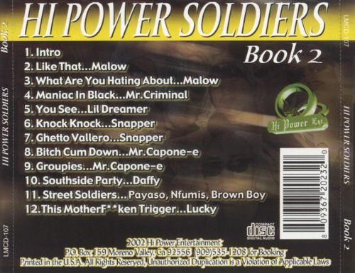 Hi Power Soldiers, Book 2