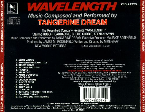 Wavelength [Original Soundtrack]